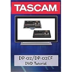 Tascam DP-02 DVD Video Tutorial Manual Help