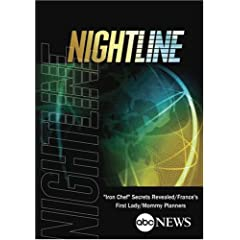 """ABC News Nightline """"Iron Chef"""" Secrets Revealed/France's First Lady/Mommy Planners"""