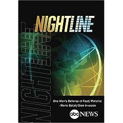 ABC News Nightline One Man's Defense of Food/'Platelist' - Mario Batali/Oreo Invasion