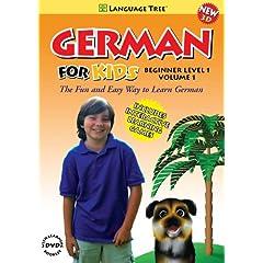 German for Kids: Learn German Beginner Level 1 Vol. 1 (w/booklet)