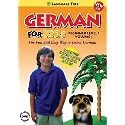 German for Kids: Learn German Beginner Level 1 Vol. 1 (w/booklet)