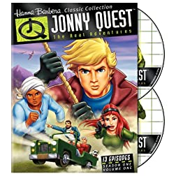 The Real Adventures of Jonny Quest (Season 1, Vol. 1)