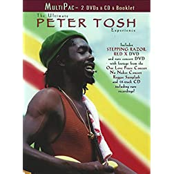 The Ultimate Peter Tosh Experience [2 DVD & 1 CD]