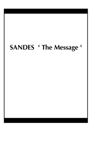 SANDES  ' The Message '