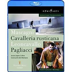 Mascagni: Cavalleria Rusticana & Leoncavallo: Pagliacci [Blu-ray]