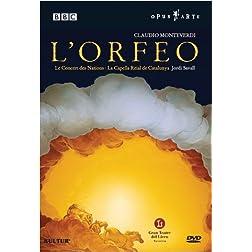 Monteverdi - L'Orfeo / Savall, Zanasi, Figueras, Mingardo, Abete, Turk, Vargas, Bettini, Gran Teatre del Liceu Barcelona