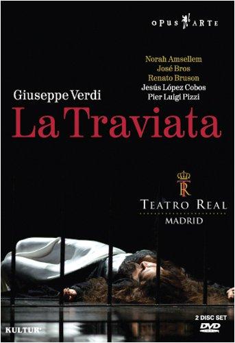 Verdi - La Traviata / Norah Amsellem, Jose Bros, Renato Bruson, Maria Espada, Jesus Lopez Cobos, Madrid Opera
