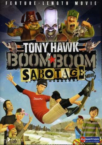 Tony Hawk in Boom Boom Sabotage