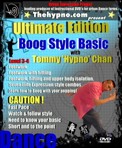 Boog Popping Style DVD - Learn Popping / hip Hop Dance