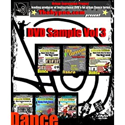 DVD Sample Vol 3 DVD - Learn Popping / Hip Hop Dance Basic