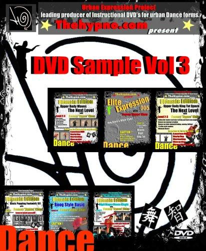 DVD Sample Vol 3 DVD - Learn Popping / Hip Hop Dance Basic