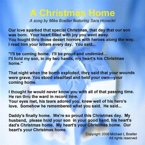 Christmas Home Feat. Sara Honadel