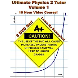 Ultimate Physics 2 Tutor -- Volume 1 (Thermodynamics) -- 3 DVD Set! -- 10 Hour Course!