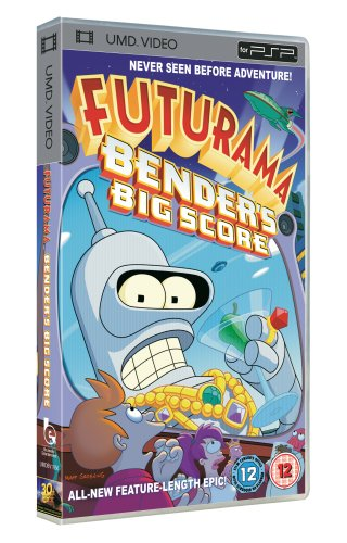 Futurama: Bender's Big Score [UMD for PSP]