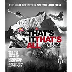 That's it That's All Blu-Ray [Blu-ray]