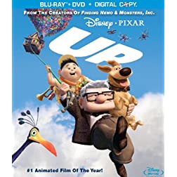 Up (4 Disc Combo Pack with Digital Copy and DVD) [Blu-ray]