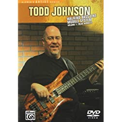 Todd Johnson: Walking Bass Line Module System, Vol. 1 - Triad Modules