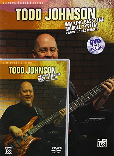 Todd Johnson: Walking Bass Line Module System, Vol. 1 - Triad Modules