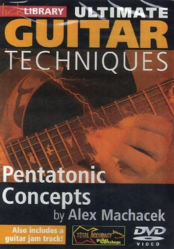 Ultimate Guitar Techniques: Pentatonic Concepts