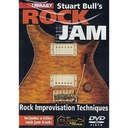 Rock Jam - Stuart Bull, Vol. 1 Rock Improvisation Techniques