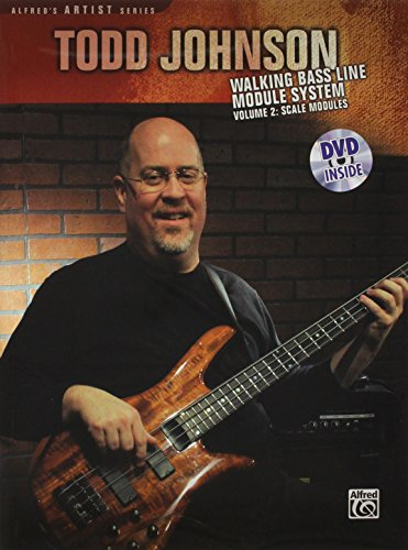 Todd Johnson: Walking Bass Line Module System, Vol. 2 - Scale Modules