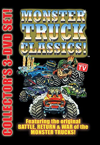 MONSTER TRUCK CLASSICS 3 DVD Set