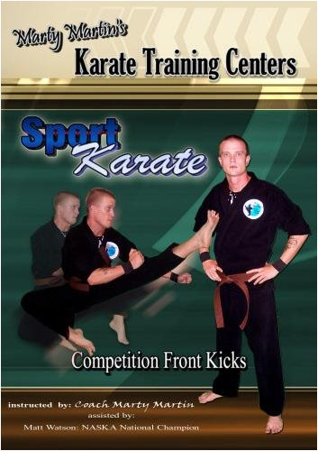 Marty Martin's Sport Karate - Competition Front Kicks