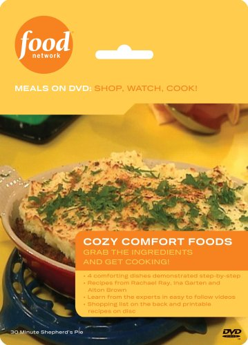 Food Network Meals on DVD: Shop, Watch, Cook! Cozy Comfort Foods