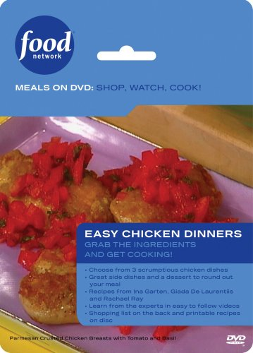 Food Network Meals on DVD: Shop, Watch, Cook! Easy Chicken Dinner