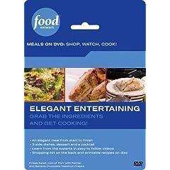 Food Network Meals on DVD: Shop, Watch, Cook! Elegant Entertaining