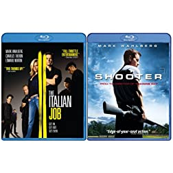 Italian Job & Shooter [Blu-ray]
