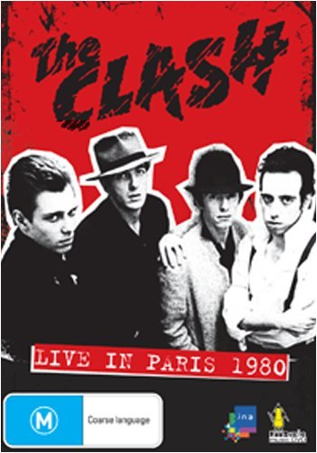 The Clash ~ Live in Paris 1980 (PAL/Region 0)