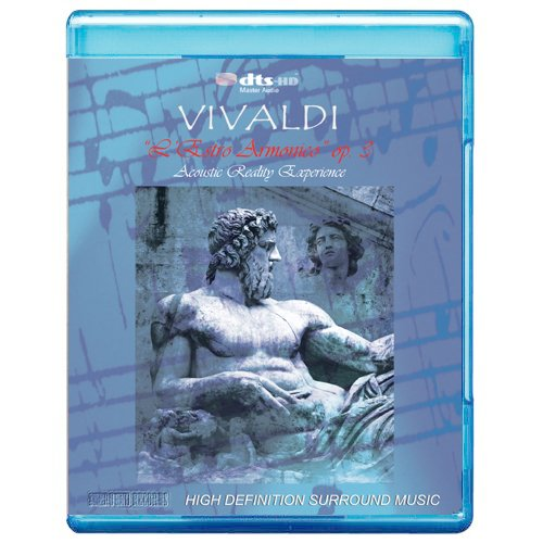 Vivaldi: The Best of Violin Concetros - The Four Seasons, Concerto for Double Orchestra, L'ESTRO ARMONICO -Acoustic Reaity Experience [7.1 DTS-HD Master Audio Disc] [Blu-ray]