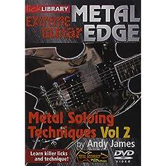 Metal Edge: Metal Soloing Techniques, Volume 2 DVD