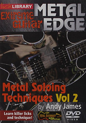 Metal Edge: Metal Soloing Techniques, Volume 2 DVD