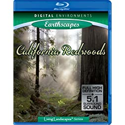 Living Landscapes: California Redwoods [Blu-ray]