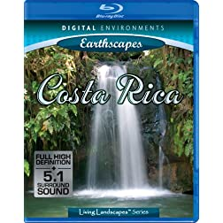 Living Landscapes: Costa Rica [Blu-ray]