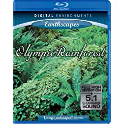 Living Landscapes: Olympic Rainforest [Blu-ray]
