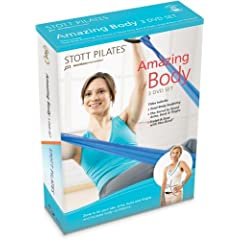 STOTT PILATES - Amazing Body 3 DVD Set