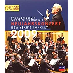 New Year's Day Concert 2009 (Blu-Ray) [Blu-ray]