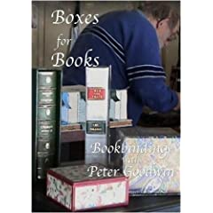 BOXES FOR BOOKS DVD - Peter Goodwin -pal