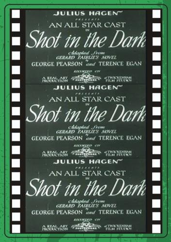 A SHOT IN THE DARK (1933)