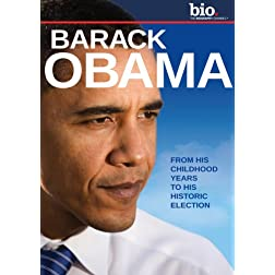 Biography: Barack Obama: Inaugural Edition DVD