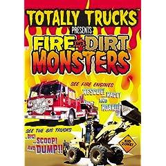 Totally Trucks: Fire & Dirt Monsters