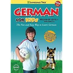 German for Kids: Learn German Beginner Level 1 Vol. 2 (w/booklet)
