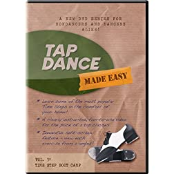 Tap Dance Made Easy - Vol 3: Time Step Boot Camp