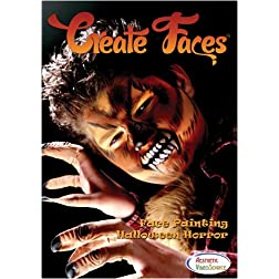 Create FacesTM Face Painting: Halloween Horror