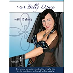 1-2-3 Belly Dance with Bahaia