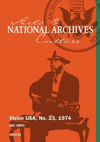 VISION USA, No. 23, 1974