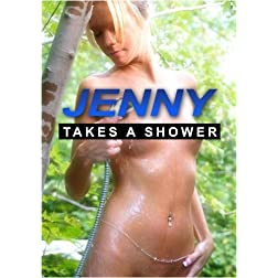 Jenny Takes A Shower